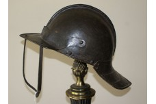 17th Century English 3 Bar Lobster Tailed Helmet