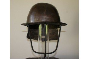 A 17th Century Officers Lobster Tailed Helmet Struck with Armourers Mark