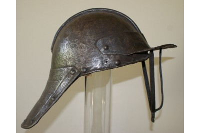 Cromwellian 3 Bar Lobster Tailed Helmet
