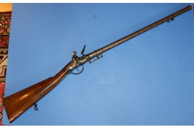 Early Breach Loading Flintlock Carbine by Delaney, Circa 1720