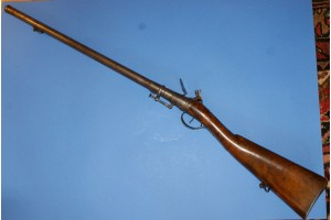 Early Breach Loading Flintlock Carbine by Delaney, Circa 1720 SOLD!