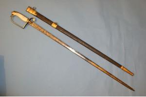 Georgian Officers Sword for The Howden Volunteers