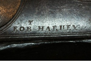 An Early 18th Century English Brass Barrelled Flintlock Blunderbuss By Robert Harvey