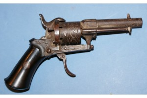 Very Small Pinfire Revolver