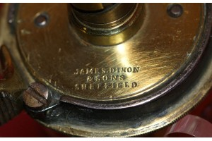 An Original Mid 19th Century Colt Navy  Powder Flask by James Dixon & Sons of Sheffield.