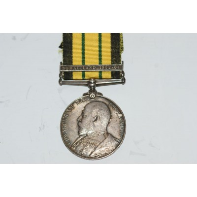 Africa General Service Medal with Single Clasp to  14334 WHLR CORPL J BRIDGER, A.S.C. SOLD!