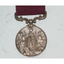 For Long Service & Good Conduct Medal to 983. PTE. T. Fawn, 64th Foot.