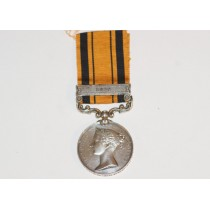 Zulu Medal, South Africa 1879 to 1672, Sergeant R Roper, 1st Dragoon Guards.