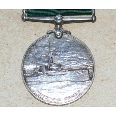 George V Naval Medal to B3032, J Hutton, R.N.R.