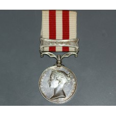 Indian Mutiny Medal with Delhi Clasp to S.E. Swindley. 61st Regt.
