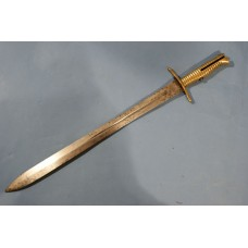 Brass Hilted Constabulary Sword Bayonet
