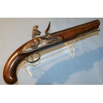 A 1796 Pattern Heavy Dragoon Flintlock Pistol