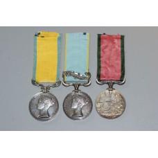 Crime Medal Group to Thomas John Harris, H.M.S. Retribution