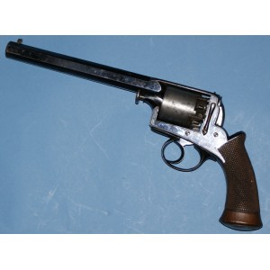 Cased 38 Bore Dragoon Model Percussion Revolver