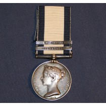 Naval General Service Medal Two Clasp to James Mustart, Guadaloupe & 14th Dec Boat Service 1814