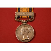 Zulu Medal to 36/1564.PTE G.CAPE. 1/13 FOOT.