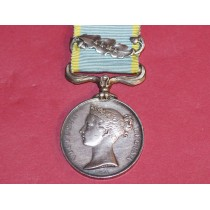 Crimea Medal With Alma Clasp ( Un named)