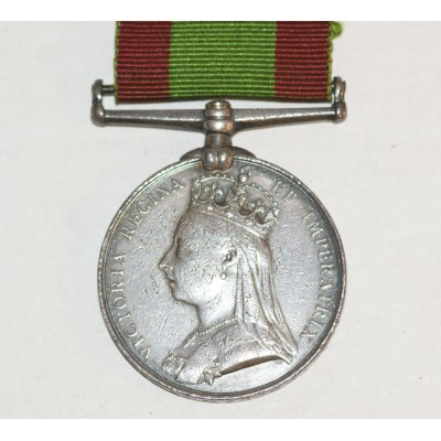 Afghanistan medal,no clasp to 879 Pte.G.Wilkinson, 2/11th REGt.