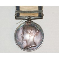 Naval General Service Medal with Lissa Clasp to Edward O Marshall, H.M.S. Amphion.