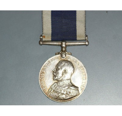 Naval Long Service & Good Conduct Medal to R H Corrin, H.M.S. Dartmouth.