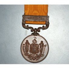 British North Borneo Company Medal 1897-1916, 1 clasp for Punitive Expedition,