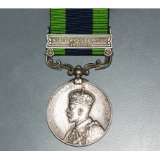 India General Service Medal with Single Clasp for North West Frontier 1930-31.