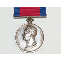 Waterloo Medal to Robert Martin, Ensign, 28th Regiment of Foot.