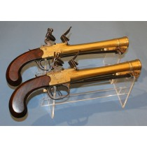 Brace of Waters Patent Blunderbuss Pistols