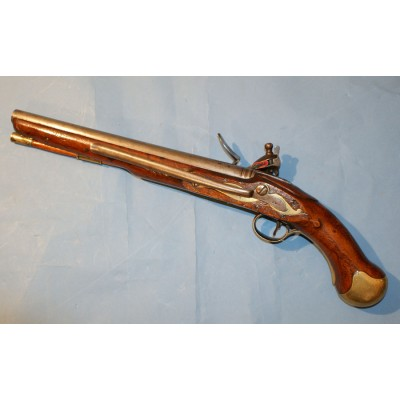 An Early 19th Century British Military Long Sea Service Flintlock Pistol